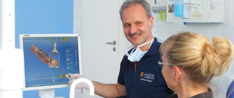 CEREC-Beratung Zahnarztpraxis Andreas Hager, Burbach