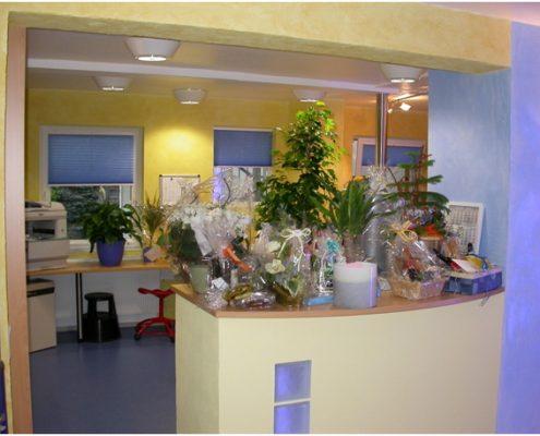 Theke nach Umbau 2002, Rückblick - Zahnarzt Andreas Hager, Burbach