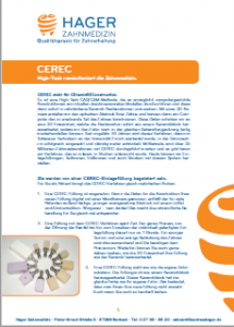 PDF zum Download Thema CEREC