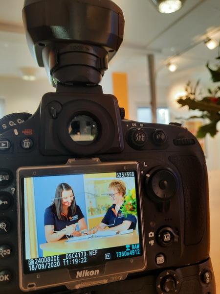 Making of der Praxisbilder Andreas Hager, Zahnarzt Burbach - Auf die richtige Belichtung kommt es an